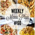 Weekly Menu Plan #60 HERO