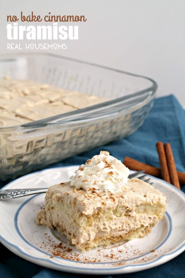 no bake cinnamon tiramisu