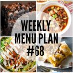 Weekly Menu Plan #68