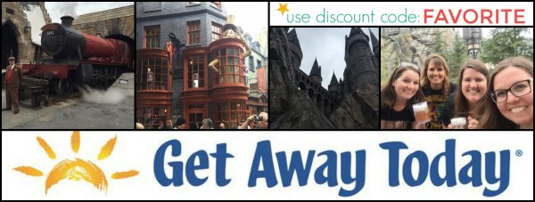 Get Away Today Harry Potter Discount Coupon Code