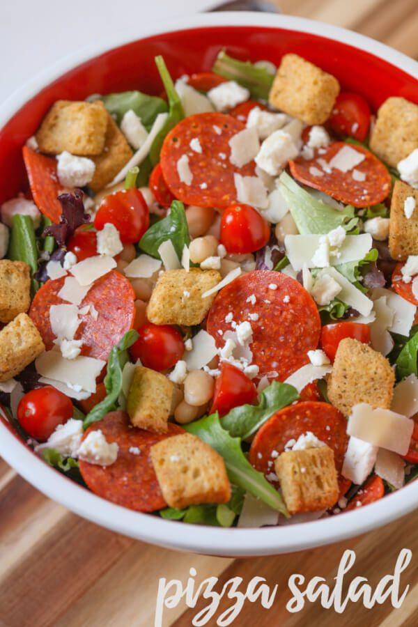 Pizza Pizzaz Salad
