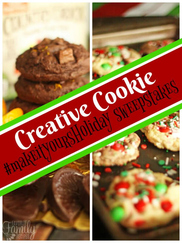 Creative Cookie #MakeItYoursHoliday Sweepstakes