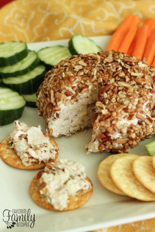 Strawberry Jalapeño Cheese Ball