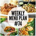 Weekly Menu Plan #74