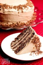 Twice Chocolate Torte Recipe
