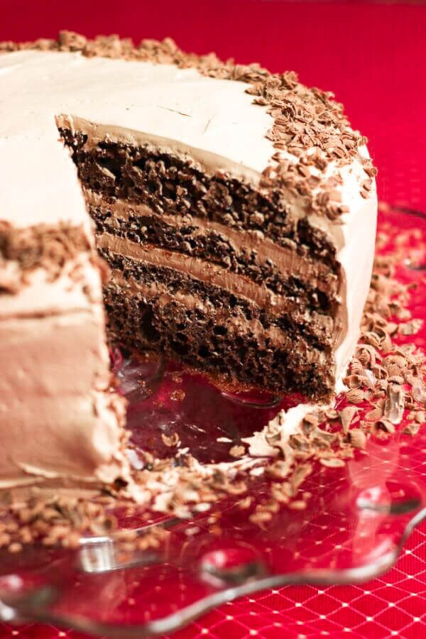 Twice Chocolate Torte Recipe