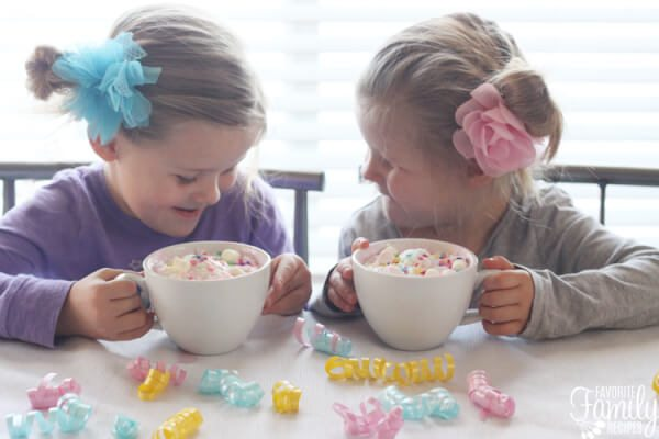 Unicorn Hot Chocolate Recipe