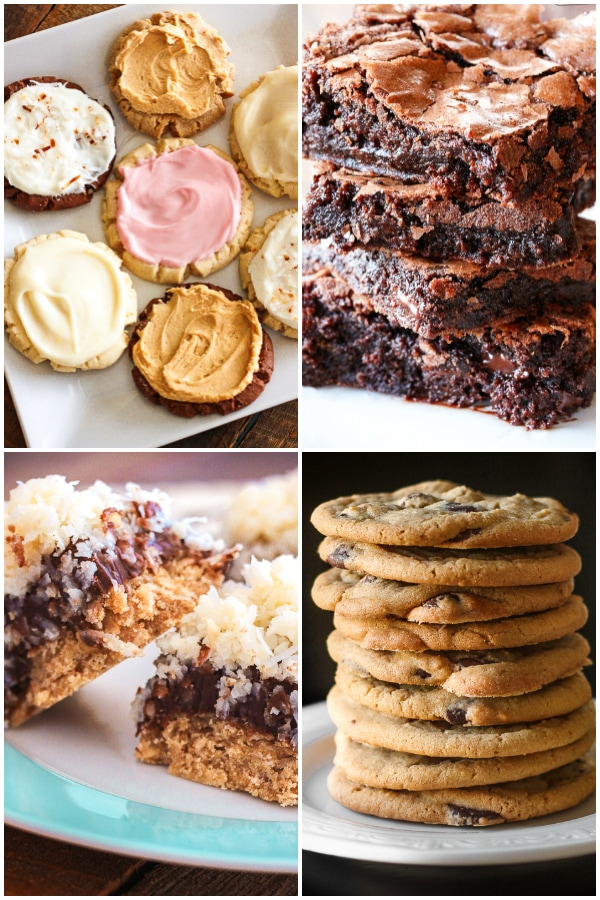 Cookie, Bar, and Brownie Recipes