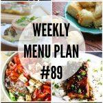 Weekly Menu Plan #89