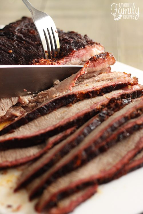 Learn how to make the PERFECT smoked brisket. It really isn't hard to do!