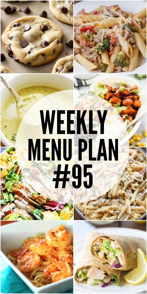 Weekly Menu Plan #95