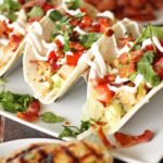 Grilled Chicken BLT Tacos