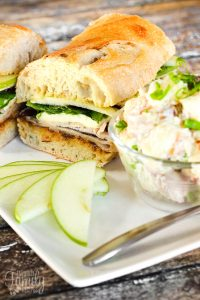 The Bleubird's Turkey and Brie Sandwich Copycat