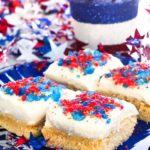 Firecracker Sugar Cookie Bars