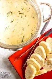 Melting Pots Spinach Artichoke Cheese Fondue