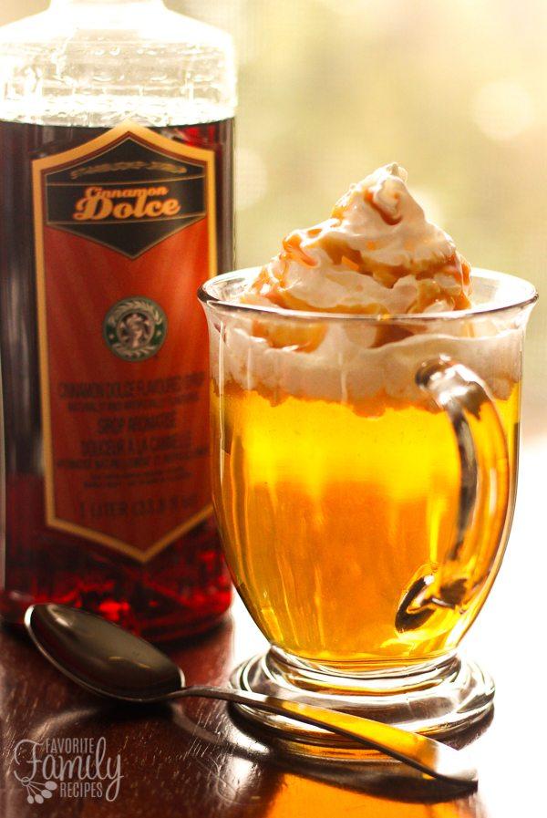Starbucks Caramel Apple Spice Cider Copycat