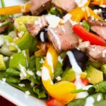 Steak Salad with Blue Cheese and Avocados