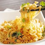 Two Minute Thai Peanut Noodles