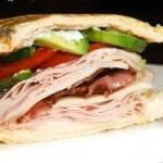 Inside Out Panini Gobbler Sandwich