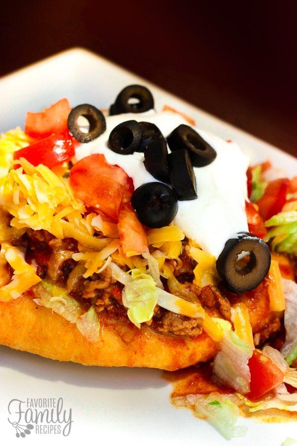 Navajo Tacos with Homemade Fry Bread Recipe