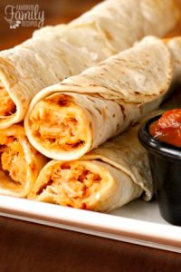 Easy Mexican Chicken Flautas From Favorite Family Recipes