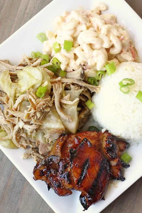 How to make a hawaiian plate lunch or mixed