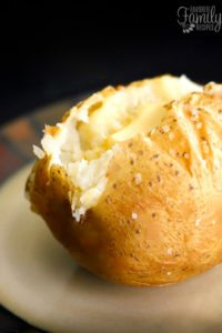 Perfect Baked Potato Method