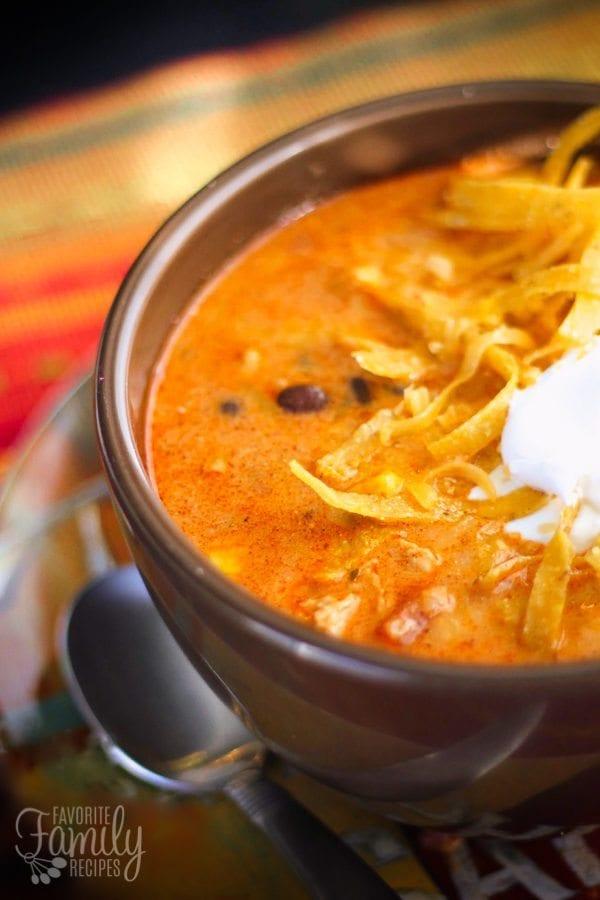 Cafe Zupas Chicken Enchilada Chili Copycat Recipe