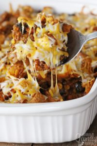 Southwestern Chili Casserole with Fritos