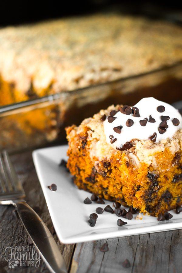 recipe: pumpkin cream cheese coffee cake [39]