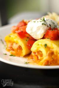Omelette Roll Ups