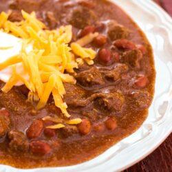 Texas Chili Recipe