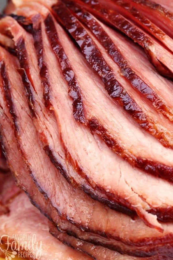 Maple Brown Sugar Spiral Ham