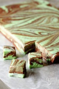 Mint Chocolate Fudge Swirl