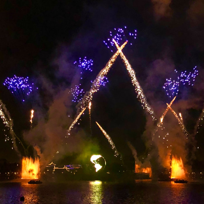 Illuminations Fireworks at Epcot Food and Wine Festival