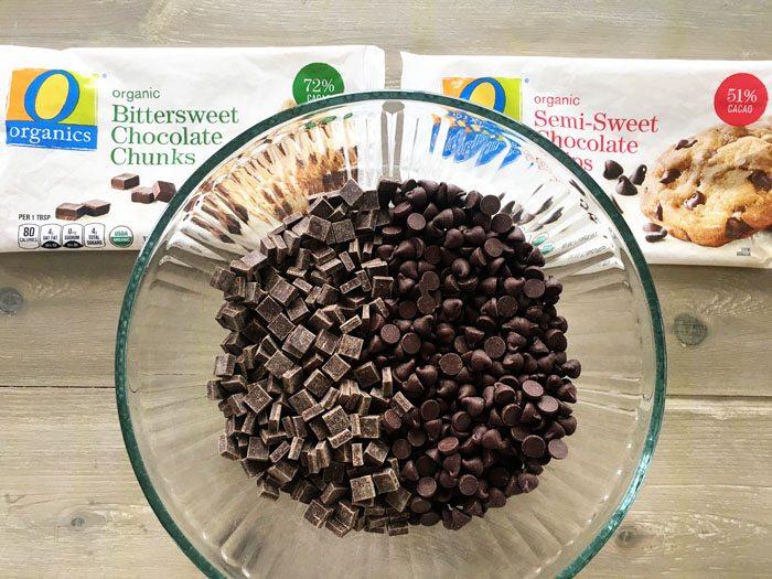 O Organics Bittersweet and Semi Sweet Chocolate Chunks