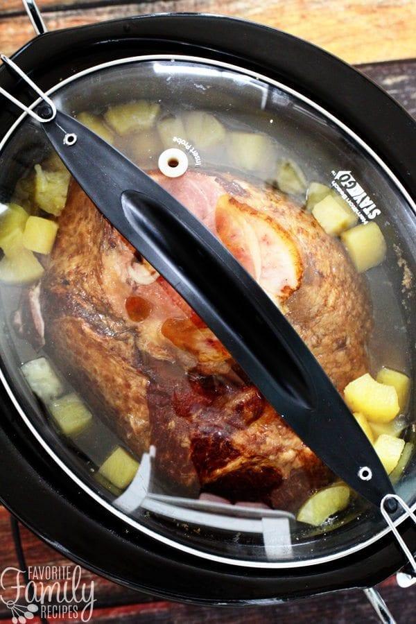 Slow Cooker Spiral Ham