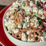 Christmas Crunch Popcorn Snack