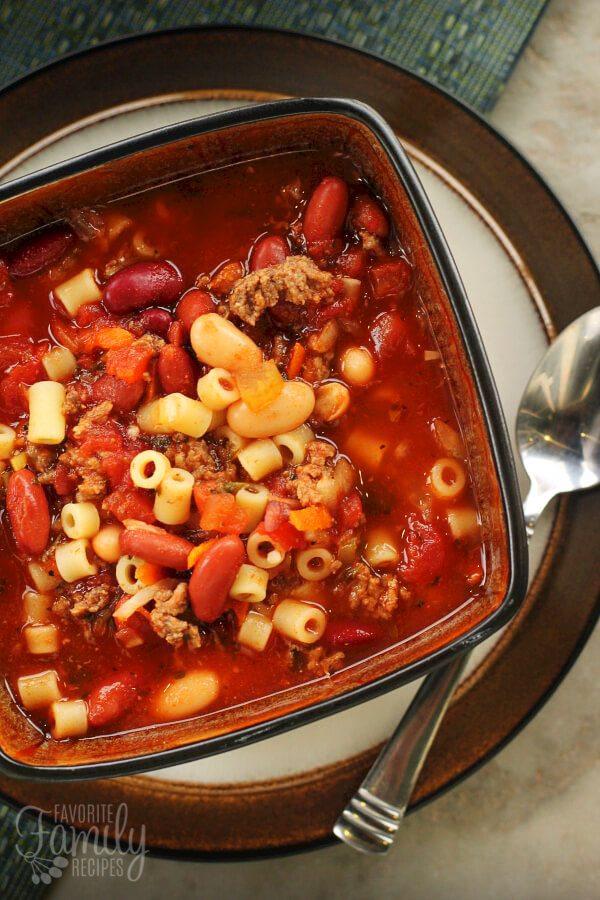 olive garden pasta e fagioli soup - Olive Garden Vegetarian