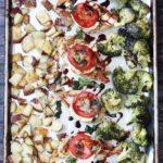One Pan Chicken and Veggies Italian Style