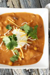 Enchilada Soup Instant Pot