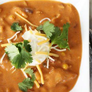 Enchilada Soup Instant Pot
