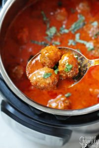 Meatballs in the Instant Pot