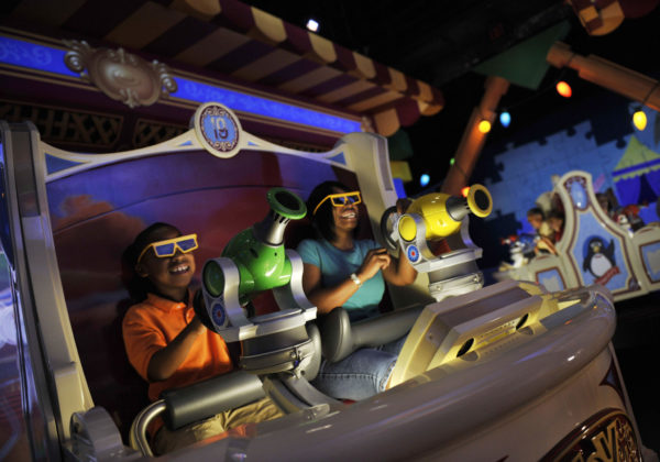 Toy Story Midway Mania Ride