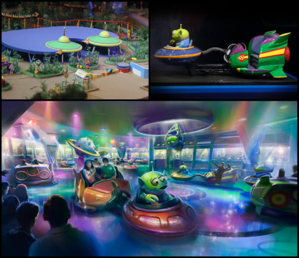Alien Flying Saucers Ride