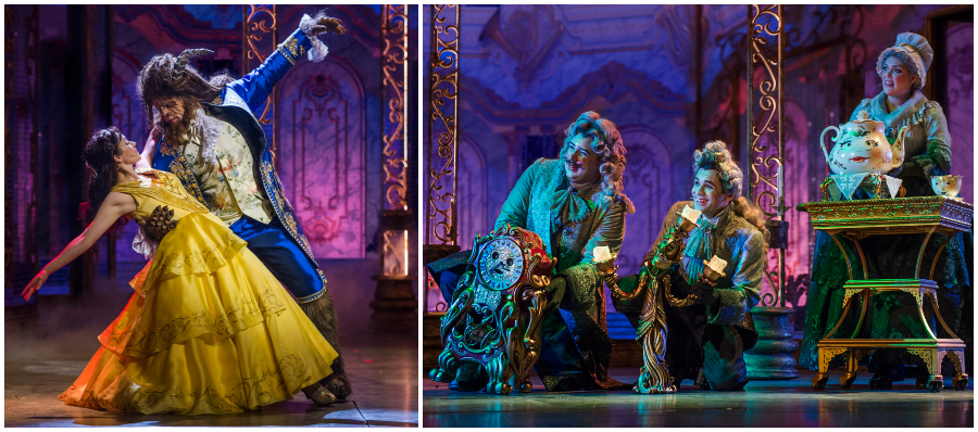 Beauty and the Beast on the Disney Dream Cruise