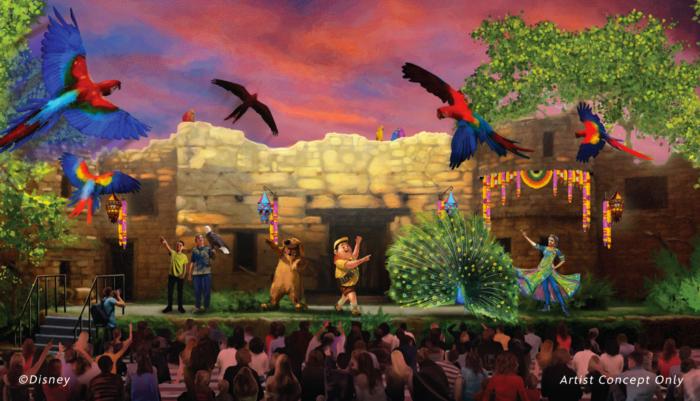 Up Show in Disney's Animal Kingdom