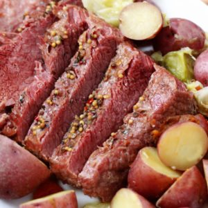 Corned Beef with Potatoes and Cabbage