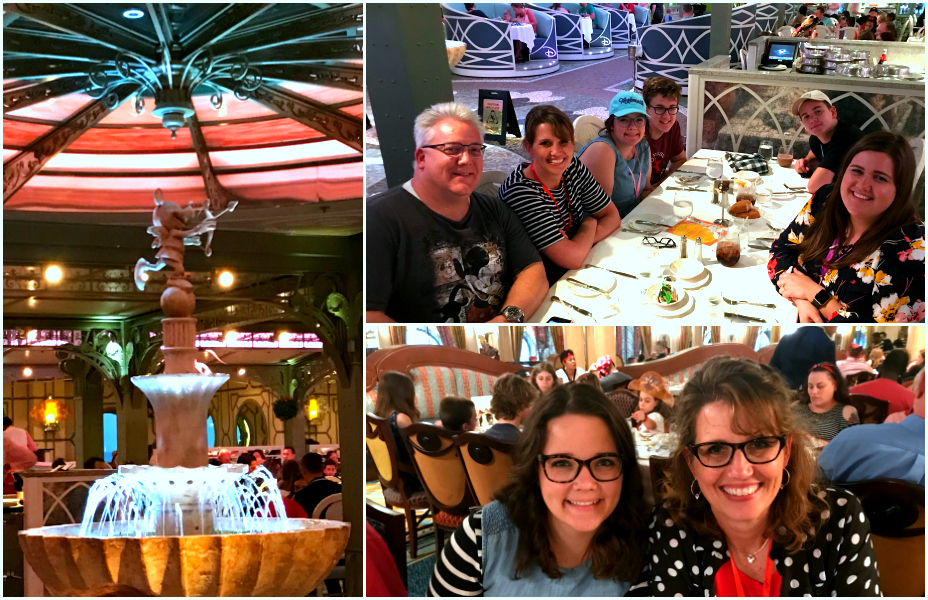 Disney Dream Restaurants