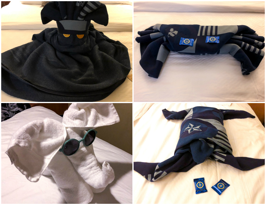 Disney Dream Towel Animals